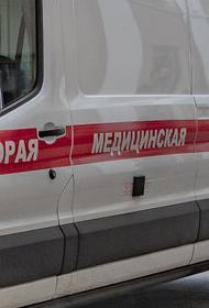 Автобус столкнулся с грейдером в Подмосковье, трое пострадавших
