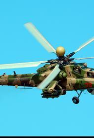 Вертолёт Ми-28НМ может управлять беспилотниками