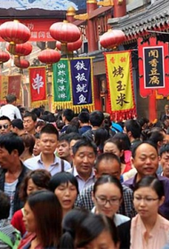 В Китае в два раза больше людей, чем в США и Евросоюзе
