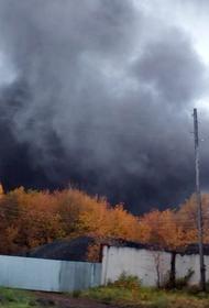 Видео: поселок  Малиновка накрыло густое облако угольной пыли