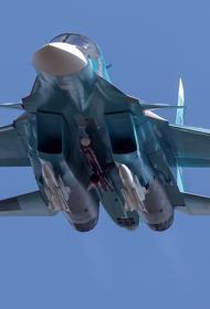 Бомбардировщики Су-34 разместят в Арктике