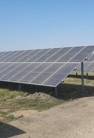 В Адыгее подключили к сетям вторую солнечную электростанцию