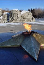 Студентка в Хабаровском крае прикурила от Вечного огня