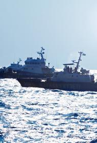 На Каспии идут совместные военно-морские учения Казахстана и России