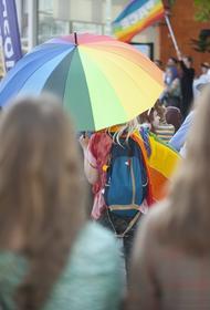В центре Киева проходит марш ЛГБТ-сообщества и поддерживающих его людей