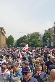 Противники строительства ГЭС  «Намахвани» на реке Риони пригрозили парализовать Тбилиси