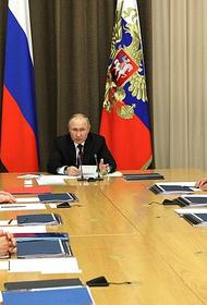 Путин рассказал об успешных испытаниях ракетного комплекса С-500
