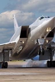 Появилось видео с посадкой в Сирии впервые прибывших на базу «Хмеймим» российских стратегических бомбардировщиков Ту-22М3