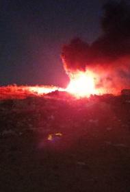 Мощный взрыв прогремел на авиабазе ВВС КСИР Ирана, где несколько ранее был представлен новый БПЛА Gaza
