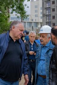 Константин Затулин встретился с жителями микрорайонов Мамайка и Дагомыс