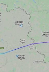Самолет с руководством российского ФСБ приземлился  в аэропорт Гомель