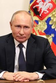 Путин поздравил Асада с переизбранием на пост президента Сирии