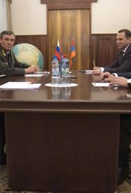 В Москве состоялась встреча глав Минобороны России и Армении