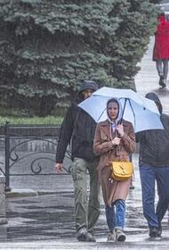 В Москве в пятницу ожидаются дожди с грозами