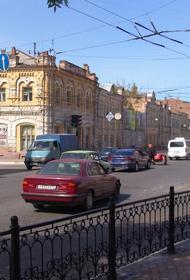 Пыльная буря накрыла Астрахань
