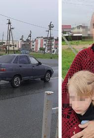 В поселке под Челябинском бабушку с внучкой на переходе сбил лихач