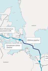 У конкурента «Северного потока 2» проблема - Дания отозвала разрешение на строительство наземного участка Baltic Pipe