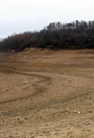 Синоптики отмечают ежегодное снижение воды, поступающей в крымские водохранилища 