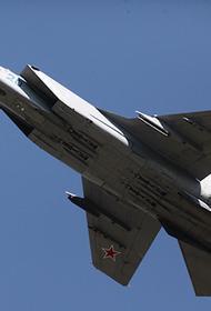 Истребитель МиГ-31 сопроводил самолет ВВС США над Баренцевым морем