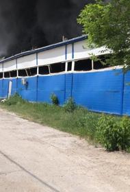 В подмосковной Коломне произошёл пожар на складах с резиновыми тапочками