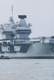 Avia.pro: ударная группа во главе с авианосцем HMS Queen Elizabeth начала «опасное движение» в сторону базы России в Сирии