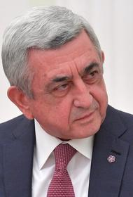 Бывший президент Армении Саргсян пригрозил Пашиняну обнародовать компромат на него