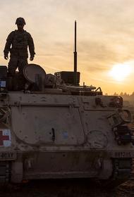 Российский ракетный комплекс «Конкурс» на вооружении курдов уничтожил бронемашину США на севере Ирака