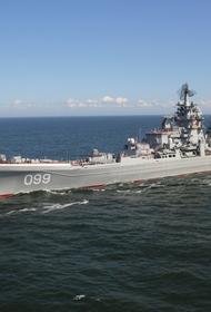 Корабельная ударная группа СФ РФ вышла в Баренцево море, на фоне идущих в регионе крупномасштабных учений ВВС НАТО