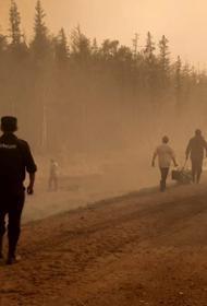 В Якутии лесные пожары охватили территорию в 120 га