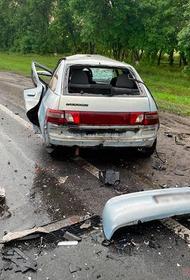При столкновении двух автомобилей в Белгородской области погибли четыре человека