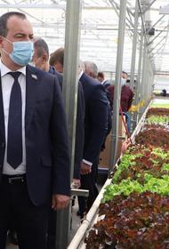 Глава кубанского парламента Бурлачко побывал с рабочим визитом в Динском районе