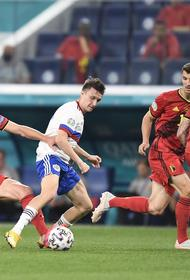 Сборная России в стартовом матче ЕВРО-2020 проиграла Бельгии