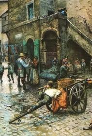 В средневековой Европе царила антисанитария, увеличивавшая  масштаб эпидемий