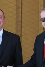 Алиев и Эрдоган во вторник подписали декларацию о союзнических отношениях Азербайджана и Турции
