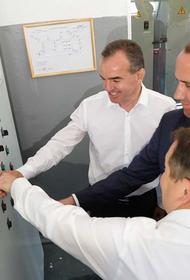 Губернатор Кубани поздравил участников церемонии запуска нового водопровода