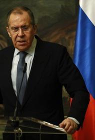 Лавров с иронией отреагировал на ошибку в своем отчестве на пресс-конференции