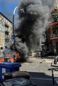 В Берлине из-за попыток выселить радикалов из сквота произошли массовые столкновения