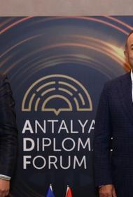 Главы МИД Украины и Турции Кулеба и Чавушоглу обсудили сотрудничество в Чёрном море
