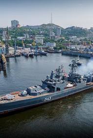 Avia.pro: в 45 километрах от акватории Гавайев, где расположена база ВМС США, замечены семь российских боевых кораблей