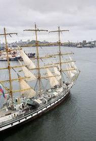 Парусник «Паллада» отправился из Владивостока по следам экспедиции Витуса Беринга
