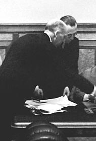Германский посол успел вручить ноту до первых взрывов авиабомб