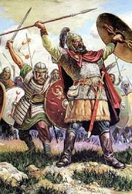 Конные славяне – гунны
