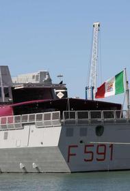 Итальянский фрегат вошёл в Чёрное море