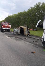 В Башкирии устанавливаются личности шестерых погибших в ДТП на трассе  М7 «Волга»