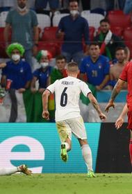 Бельгия в тяжелой борьбе проиграла Италии 1:2