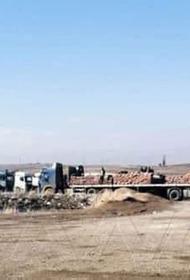 Американцы вывозят пшеницу и нефть из Сирии