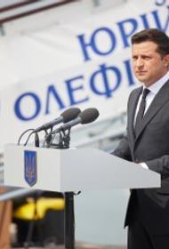 Зеленский пообещал военным морякам, что к концу 2023 года Турция построит для ВМС Украины современный корвет