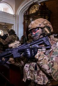СБУ провела учения по ликвидации террористов в Киевской синагоге