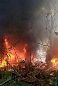 Минобороны Филиппин рассекретило число жертв при крушении военного самолёта