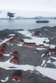 ООН объявила о новом температурном рекорде в Антарктиде -18,3 градуса